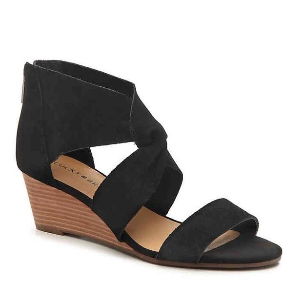 a693a0ecf7fe0 Lucky Brand Jamain Wedge sandal